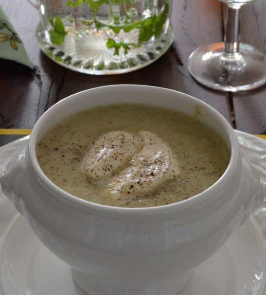 Broccoli-Crême Soep