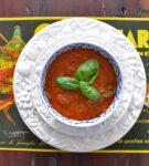 Tomaten-basilicumsoep